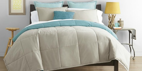 JCPenney: $10 Off $25 Online Purchase = Twin Reversible Comforter Only $15 (Regularly $80)