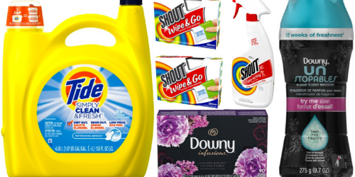 Jet.com: Extra 20% Off Laundry Items = BIG Savings on Tide, Downy, Shout & More