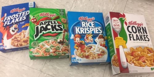 Walgreens: Kellogg's Cereals as Low as Only $1.08 Per Box