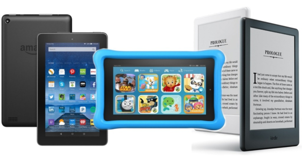 Amazon: DEEP Discounts on Fire and Kindle Tablets - Hip2Save