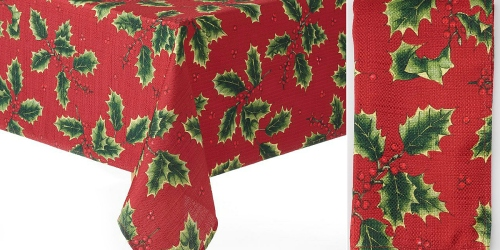 Kohl's Cardholders: Holiday Tablecloths, Napkins, 4-Pack Placemats & More $3.63 Shipped (Reg. $30.99)