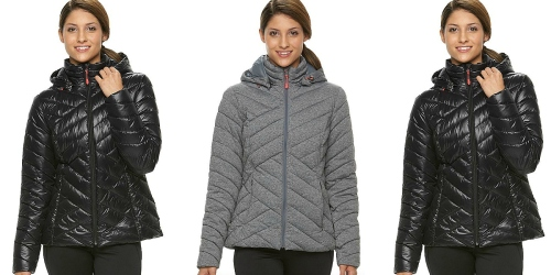 Kohl's Cardholders: Women's Tek Gear Hooded Puffer Jacket Just $28 Shipped (Reg. $100)