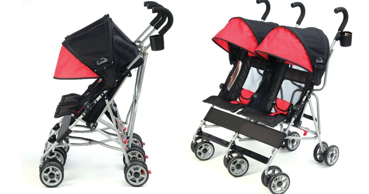 kolcraft cloud double stroller1