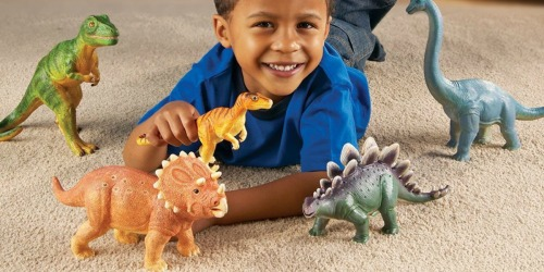 Learning Resources Jumbo Dinosaurs 5-Count Pack Only $14.54 (Regularly $29.99)