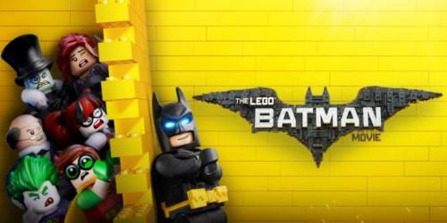 VUDU.com: FREE $8 The LEGO Batman Movie Cash w/ Select Movie Purchase Starting at $9.99