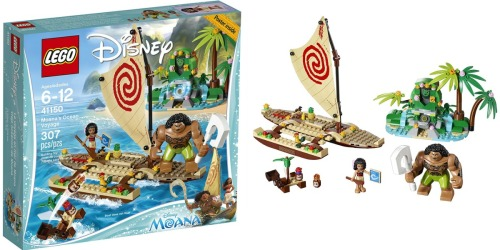 LEGO Disney Moana's Ocean Voyage Set Only $27.99 (Regularly $39.55)