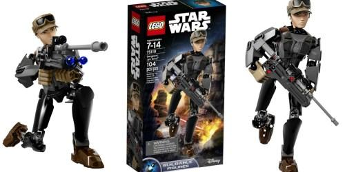 Amazon: LEGO Star Wars Sergeant Jyn Erso Set Only $12 (Regularly $24.99)