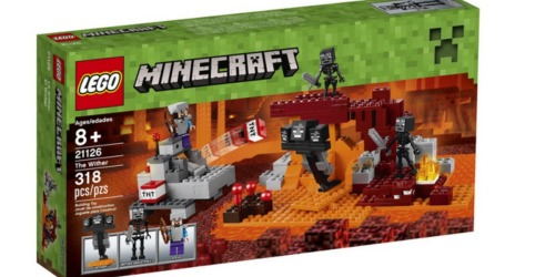 Amazon: LEGO Minecraft The Wither Set Only $21.53 (Lowest Price)