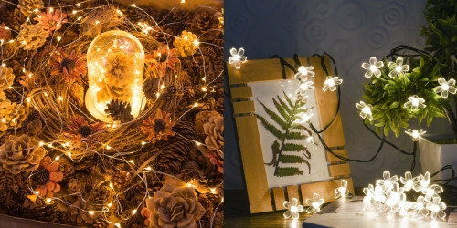 Amazon: 12 Pack LED String Lights Only $19.99 (Just $1.67 Per Strand) & More Lighting Deals