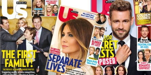 FREE 18-Month Subscription to US Weekly