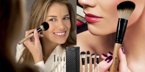 Amazon: 8-Piece Make-Up Brush Set w/ Travel Pouch Just $6.99