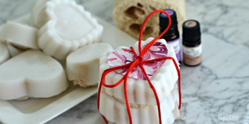 DIY Melt and Pour Exfoliating Loofah Soaps (Easier Than You Think!)