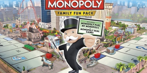 Amazon: Playstation 4 Monopoly Family Fun Pack Digital Download Only $7.99 (Regularly $19.99)