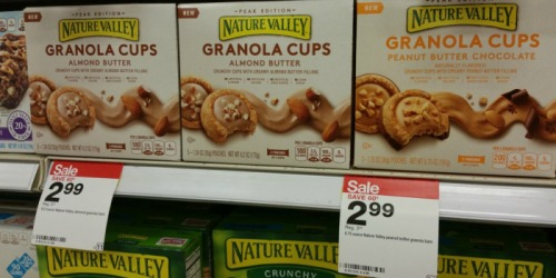 Target: Nature Valley Peanut Butter Chocolate Granola Cups Only $2.34 (Regularly $3.59)
