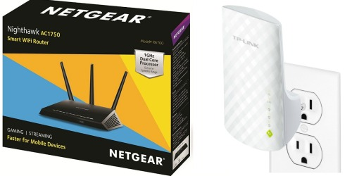 Amazon: 40% Off Networking & Storage Items = Nice Deals on Routers, WiFi Extenders & More
