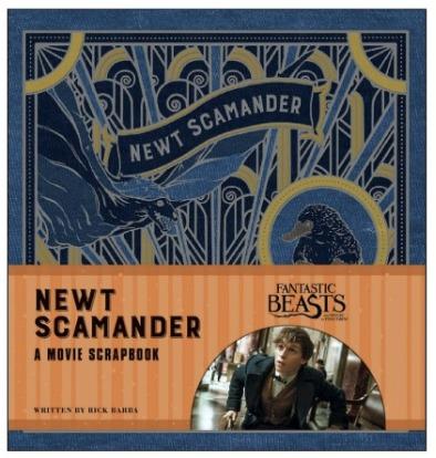 newt-scamander-hardcover-scrapbook