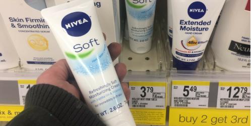 Walgreens: Nivea Soft Moisturizing Cream Only $1.19