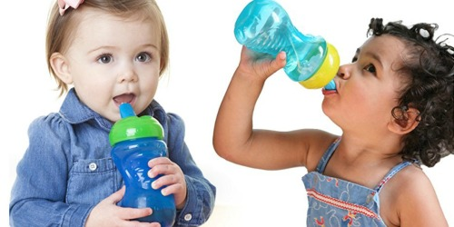 Amazon: Nuby Free Flow 10 oz Sippy Cup Only $2.24 (Add-On Item)
