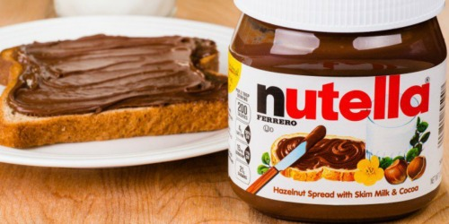 High Value $1.50/1 Nutella Hazelnut Spread Coupon = Only $1.49 at Walgreens