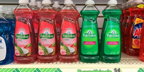 New $0.25/1 ANY Palmolive Dish Liquid Coupon = Around 75¢ at Dollar Tree, Target & Rite Aid