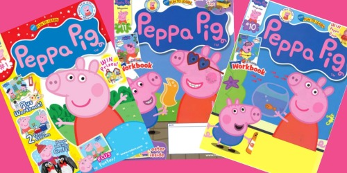 Peppa Pig Magazine Subscription Only $13.99