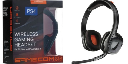 Walmart: Plantronics Gaming Headset Only $19.96 (Regularly $29) – Works w/ PC, Mac and PS4