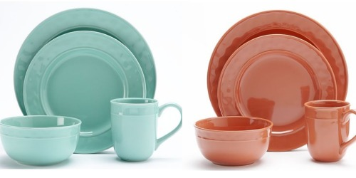 Kohl's Cardholders: Food Network 4-Piece Place Settings Only $9.44 Shipped (Regularly $29.99)