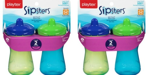 $6 in Playtex Cups & Bottles Coupons = 2-Pack Sippy Cups Only $2.99 at Target + Nice Deals at Walmart