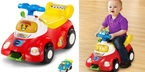 VTech Go! Go! Smart Wheels Launch and Go Ride-On Car Only $20.98 (Regularly $44.99)