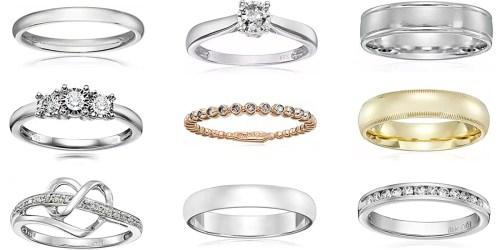 Amazon: Up To 70% Off Diamond Rings & Wedding Bands