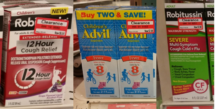robitussin-and-advil-clearance-at-target