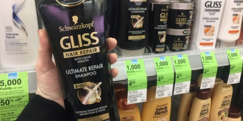 Walgreens: FREE Schwarzkopf Gliss Hair Product After Mail-in-Rebate + Earn 1,000 Points
