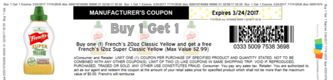 Mustard coupon