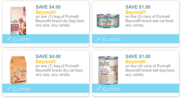 Purina Beyond coupons