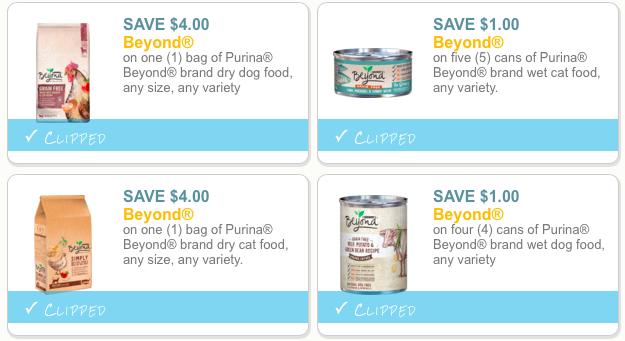 Purina Beyond coupons