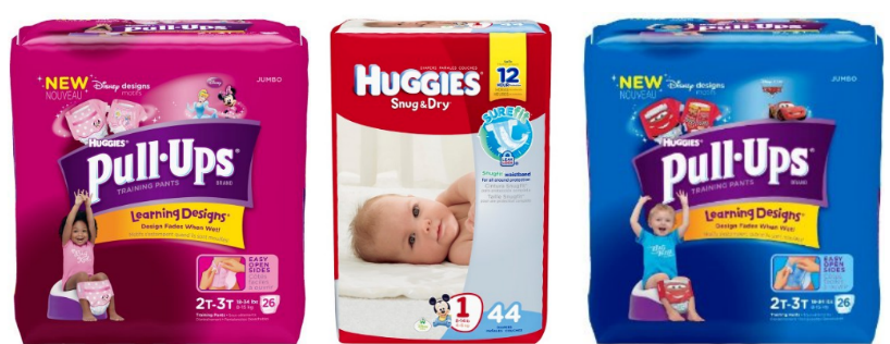 photograph relating to Printable Coupon $3 Off Pull Ups called Fresh $4 Off Huggies Diapers Pull-ups Coupon - Hip2Preserve