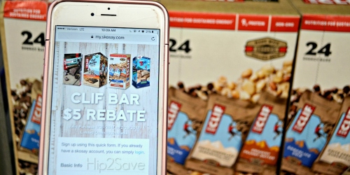 Sam's Club: $5 PayPal Rebate w/ ANY Clif Bar Purchase (Text Offer) – Just 57¢ Per Bar