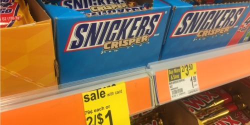 Walgreens: Snickers Bar Singles Only 13¢ Each