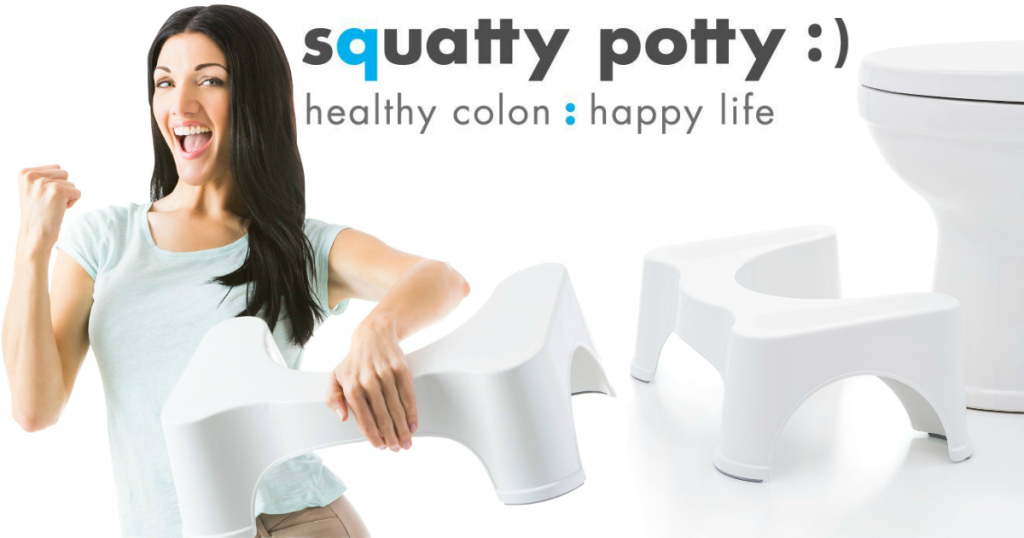 Amazon Two Squatty Potty 7 Inch Stools Only 29 99