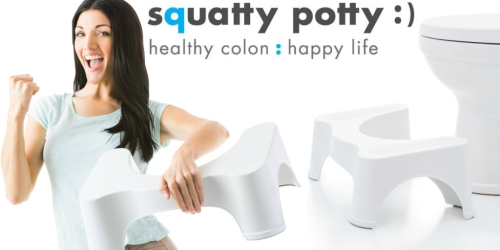 Amazon: Squatty Potty 7 inch Stool Only $17.92