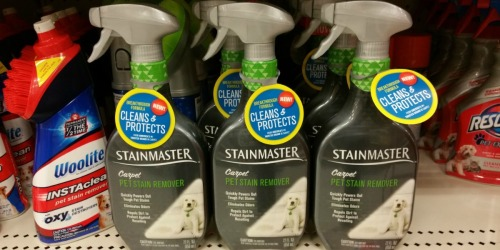 High Value $2/1 Stainmaster Carpet Pet Stain Remover Coupon = Only $2.47 at Walmart