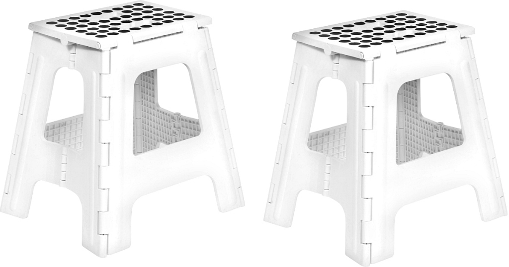 Head On Over To Where You Can Score This Kikkerland Rhino Tall Folding Step Stool In White For The Lowest Price Of Only 13 76 Regularly 25