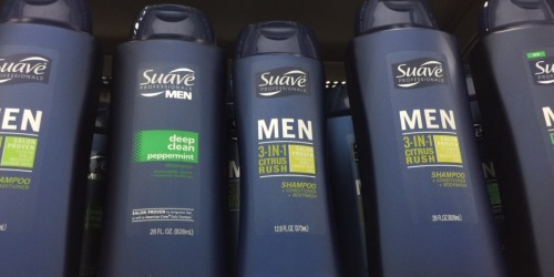 Walmart: Men's Suave Hair Care Products Only 94¢
