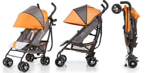Amazon: Summer Infant 3D-One Convenience Stroller ONLY $99.99 Shipped
