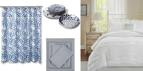 Target.com: Up to 30% Off Bedding, Bath, Home Decor & More