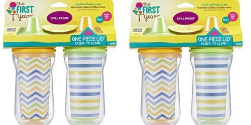 New $2/1 The First Years Sippy Cup 2-Pack Coupon