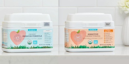 The Honest Company: 50% Off First Feeding Bundle = 23.2 Ounce Formula Tubs as Low as $13.87 Each