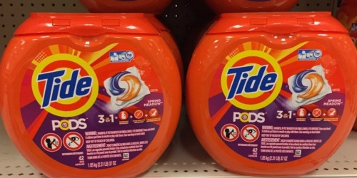 New $2/1 Tide Pods Coupon = Stock Up at Target