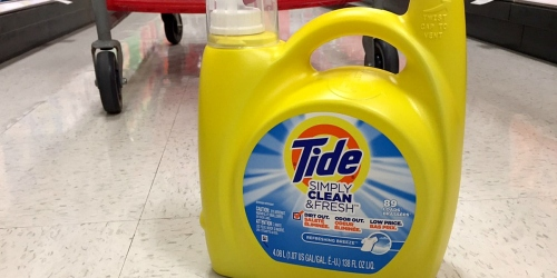 NEW TopCashBack Members: Score Completely FREE Large Bottle of Tide Detergent