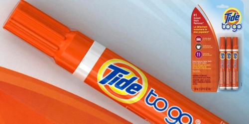 Amazon: Tide To Go Instant Stain Remover Liquid Pen 3-Pack Only $2.95 Shipped